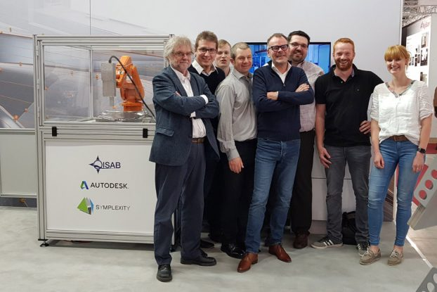 SYMPLEXITY team at Control Messe 2018 in Stuttgart
