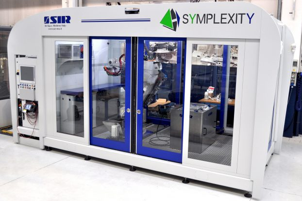 SIR robot cell - a powerful polishing tool with an integrated metrology unit